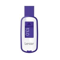 Lexar JumpDrive S25 64GB 64GB USB 3.0 Violett, Weiß USB-Stick (Violett, Weiß)