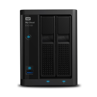 Western Digital My Cloud EX2100, 12TB (Schwarz)