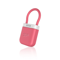 Silicon Power Unique 510 64GB 64GB USB 2.0 Pink USB-Stick (Pink)