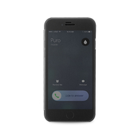 PURO IPC655SENSEBLK Handy-Schutzhülle (Schwarz)