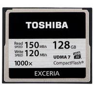 Toshiba CF-128GB Exceria (Schwarz)