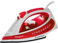 Russell Hobbs Steam Glide Ultra (Rot, Weiß)