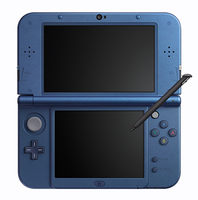 Nintendo New 3DS XL (Blau, Metallisch)