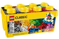 Lego Classic Mittelgroße Bausteine-Box 484Stück (Mehrfarbig)