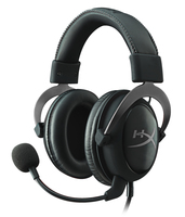 Kingston Technology HyperX Cloud II Gaming Headset - Gun Metal (Schwarz)