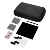 Hama 00053444 Schutzhülle für tragbare Spielekonsole (Schwarz)