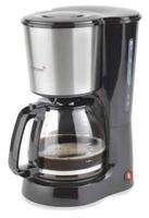 Korona 10112 Kaffeemaschine (Schwarz, Edelstahl)