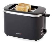 Korona 21112 Toaster (Schwarz, Edelstahl)
