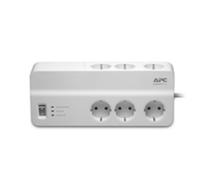 APC PM6-GR Überspannungsschutz (Weiß)