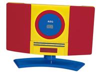 AEG MC 4464 (Blau, Rot, Gelb)
