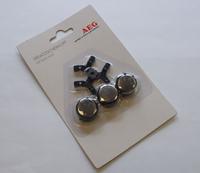 AEG 599986 Rasierapparat-Zubehör (Schwarz, Silber)