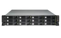 QNAP TS-1253U-RP NAS Rack (2U) Eingebauter Ethernet-Anschluss Weiß NAS & Speicherserver (Weiß)