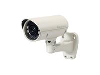 LevelOne Zoom-Netzwerkkamera, 2 Megapixel, Outdoor, 802.3af PoE, IR-LEDs, Tag/Nacht, 3fachen Optischen Zoom (Weiß)