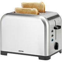 Petra Toaster TA 54.35 (Schwarz, Edelstahl)