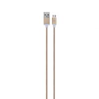 Xqisit USB A/Micro-USB B 0.8m (Gold)
