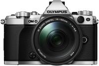 Olympus OM-D E-M5 Mark II + M.ZUIKO ED 14-150mm (Schwarz, Silber)
