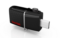 Sandisk 32GB Ultra Dual USB Drive 3.0 32GB USB 3.0/Micro-USB Schwarz USB-Stick (Schwarz)