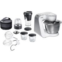Bosch MUM54211 Mixer (Edelstahl, Weiß)