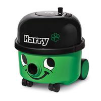 Numatic Harry HDH201-12 Cylinder vacuum cleaner 9l 620W A Schwarz, Grün (Schwarz, Grün)