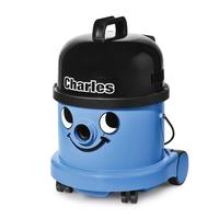 Numatic Charles CDC371-2 Drum vacuum cleaner 9l 1200W Schwarz, Blau (Schwarz, Blau)