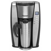 Bestron ACUP650 Kaffeemaschine (Edelstahl)