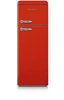 Schaub Lorenz SL208 FR DD Freistehend 168l A+ Rot (Rot)