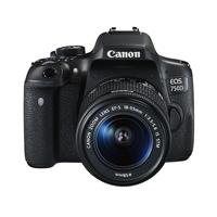 Canon EOS 750D + EF-S 18-55mm (Schwarz)