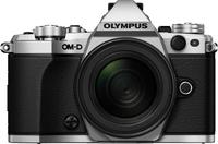 Olympus OM-D E-M5 Mark II + M.ZUIKO ED 12-40mm Systemkamera 16.1MP 4/3Zoll Live MOS 4608 x 3456Pixel Silber (Silber)