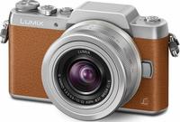 Panasonic Lumix DMC-GF7K + G VARIO 12-32mm (Braun, Silber)