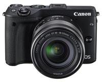 Canon EOS M3 + EF-M 18-55mm (Schwarz)