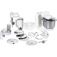 Bosch MUM48140DE Küchenmaschine (Silber, Weiß)