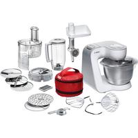 Bosch MUM54270DE Küchenmaschine (Silber, Weiß)