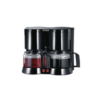 Severin KA 5802 Kaffeemaschine (Schwarz)