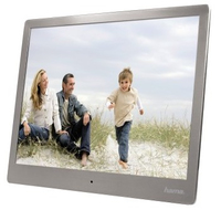 Hama 00118561 Digital Fotorahme (Silber)