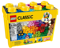 Lego Classic Große Bausteine-Box 790Stück (Mehrfarbig)
