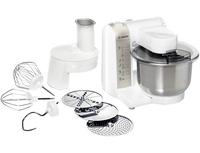 Bosch MUM48W1 Küchenmaschine (Edelstahl, Weiß)