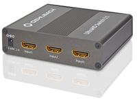OEHLBACH UltraHD Switch 3:1 (Schwarz)