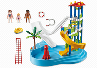 Playmobil Summer Fun Water Park with Slides (Mehrfarbig)