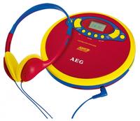 AEG CDP 4228 Kids Line (Blau, Rot, Gelb)