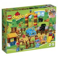 Lego DUPLO Wildpark 105Stück (Mehrfarbig)