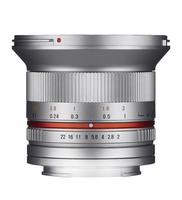 Samyang 12mm F2.0 NCS CS (Silber)