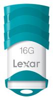 Lexar 16GB JumpDrive V30 16GB USB 2.0 Türkis, Weiß USB-Stick (Türkis, Weiß)