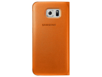 Samsung Flip Wallet (Orange)