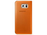 Samsung Flip Wallet (Orange)