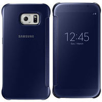 Samsung Clear View Cover (Schwarz, Blau)