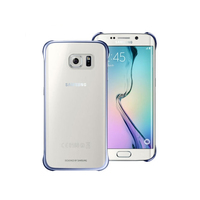 Samsung Clear Cover (Blau, Transparent)