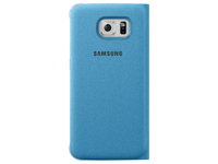 Samsung Flip Wallet Canvas (Blau)