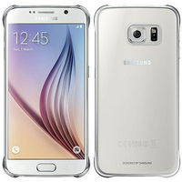 Samsung Clear Cover (Silber, Transparent)