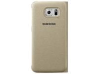 Samsung Flip Wallet Canvas (Gold)