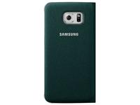 Samsung Flip Wallet Canvas (Grün)